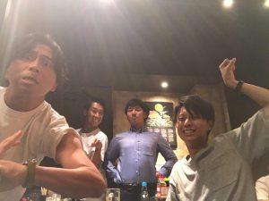 福岡営業所チームも達成会を開催